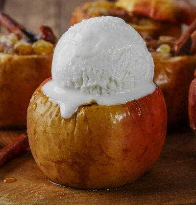 warm maple moon baked apple